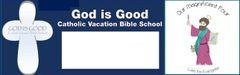 (b) St. Luke's VBS Promotion Banner