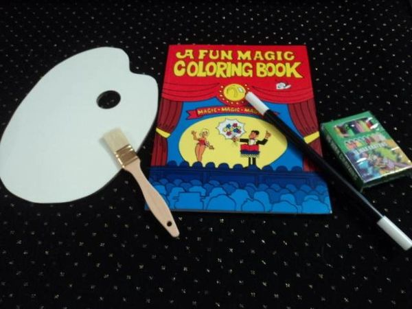 Magic Coloring Book Palette Vanishing Crayons Wand Special Http