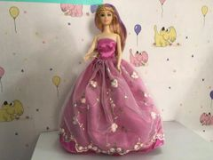 Barbie Gown- -Barbie Shoes