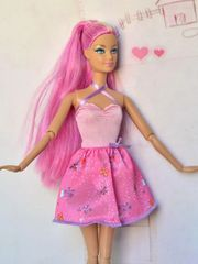 Barbie Dress-Modest Barbie Clothes-Pink Barbie Shoes