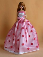 Lovely Barbie Ballgown-Barbie Shoes