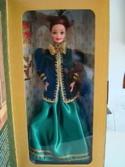 1996 Yuletide Romance-Coat-Skirt-Brush-Jewelry-Stand-Purse