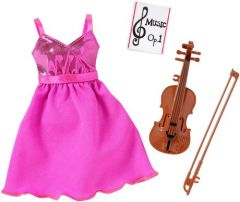 Modest Fancy Dress-Barbie Doll Fashion-Shoes-Violin-Sheet Music