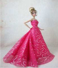 Evening Barbie Gown-Barbie Shoes