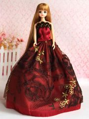 Barbie Ballgown-Fancy Barbie Shoes