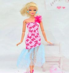 Fun Barbie Dress-Barbie Shoes
