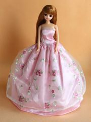 Sweet Barbie Gown-Modest Barbie Clothes-Shoes