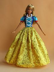 Barbie Princess Dress-Modest Barbie Clothes-Barbie Shoes