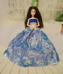 Sweet Barbie Gown-Modest Barbie Dress-Shoes