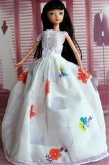 Modest Barbie Clothes-Barbie Gown-Barbie Shoes