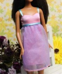 Sweet Barbie Dress-Modest Barbie Clothes-Barbie Shoes