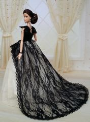Barbie Gown-Modest Barbie Clothes-Shoes