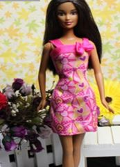 Hearts Barbie Dress-Barbie Shoes