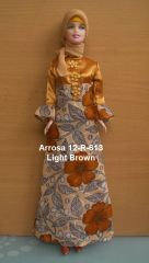 Modest Bedouin Doll-Handmade Gown-Scarf-Pants-Barbie-Shoes