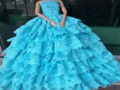 Seven Lace Layer's-Barbie Gown-Shoes
