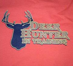 Deer Hunter in Training-Orange 50/50 Infant T-Shirt