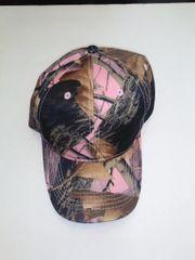 Pink Camo Hardwoods Baseball Cap/Hat