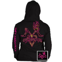 Country Life Hoodie- Kiss