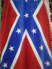 Rebel Beach Towel, Confederate Flag Beach Towel