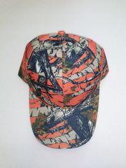 Orange Camo Hardwoods Baseball Cap/Hat