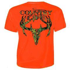 Country Life Skull Short Sleeve T-Shirt