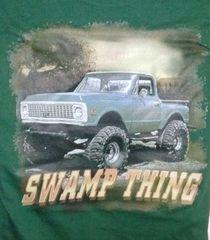 Hunter Green T-Shirt- Swamp Thing