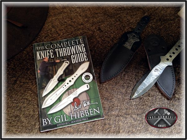The complete knife throwing guide by gil hibben uc882 throwing.