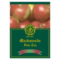 MACKWOODS APPLE FLAVOURED 25 ENVELOPED TEA BAGS