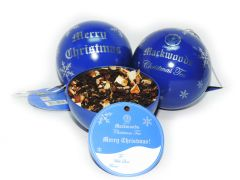 BLUE MACKWOODS CHRISTMAS SPICY TEA BALL