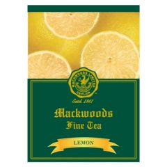 MACKWOODS LEMON FLAVOURED 25 ENVELOPED TEA BAGS