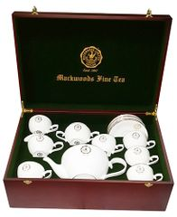 MACKWOODS FINE PORCELAIN TEA SET FOR SIX