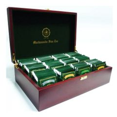 WOODEN TEA TRAY (12 COMPARTMENT)