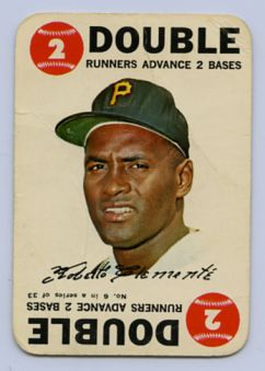 2. 1968 ROBERTO CLEMENTE TOPPS GAME CARD