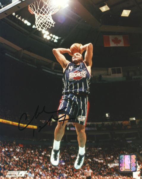 Charles Barkley - Houston Rockets signed 8x10 photo