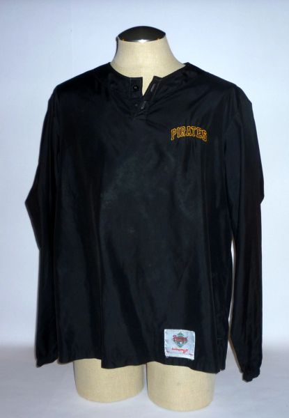 Bob Kipper #16, Pittsburgh Pirates warm-up pullover Size L