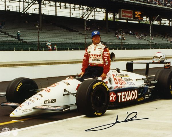 Mario Andretti signed 8x10 photo