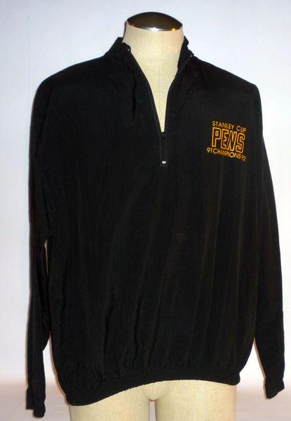 Pittsburgh Penguins pullover jacket, Size L