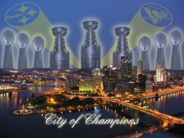 51. Super Bowl/Stanley Cup City of Champions 11x14 photo