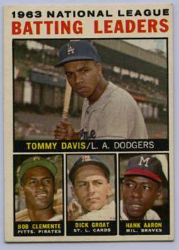 9. 1964 TOPPS BASEBALL CARD #7 - CLEMENTE
