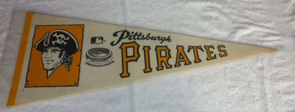 1970's Pittsburgh Pirates full-size pennant
