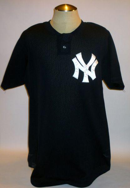 New York Yankees game used spring training jersey #35