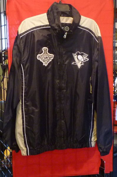 Pittsburgh Penguins 2009 Stanley Cup Champions jacket, Size XL
