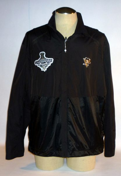 Pittsburgh Penguins 2009 Stanley Cup jacket, Size L