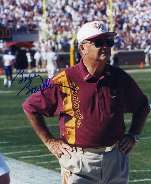 Bobby Bowden, Florida State signed 8x10 photo