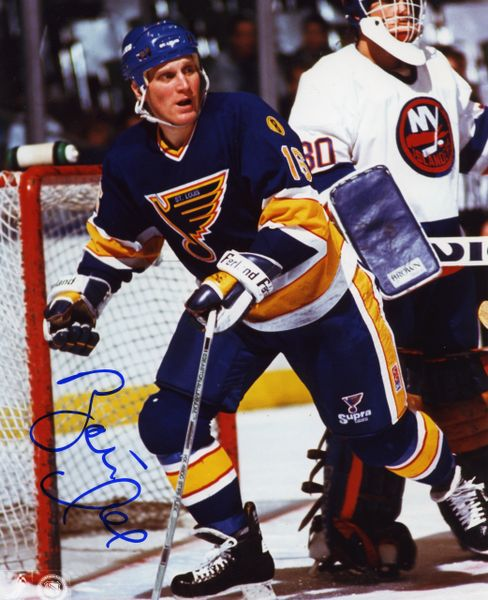 Brett Hull - St. Louis Blues signed 8x10 photo