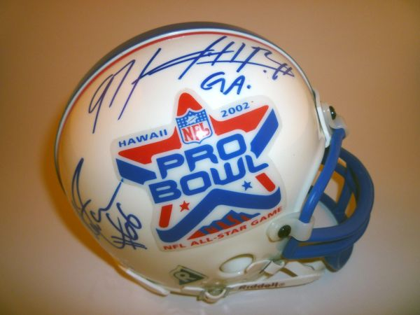 STEELERS - 2002 PRO-BOWL SIGNED MINI HELMET