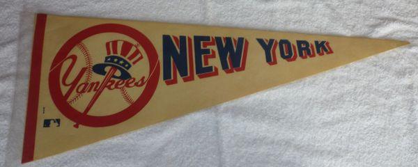 1970's New York Yankees full-size pennant