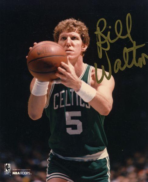 Bill Walton - Boston Celtics signed 8x10 photo