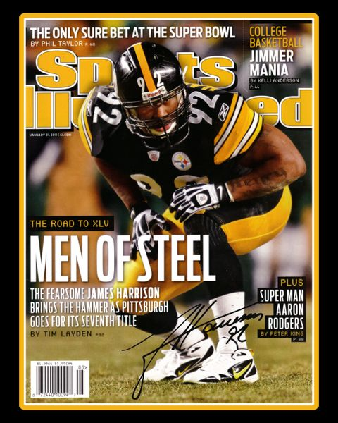 43. James Harrison size 11x14 photo