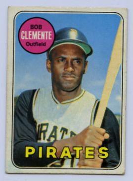 75. 1969 ROBERTO CLEMENTE TOPPS BASEBALL CARD #50